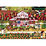 Buffalo Games Autumn Farms by Charles Wysocki Jigsaw Puzzle, 500 Piece