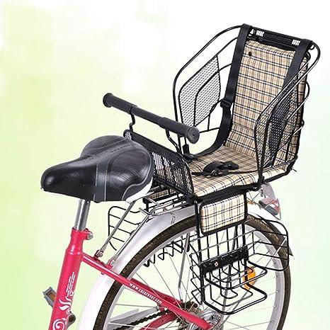 Joyfitness Asiento Trasero de Seguridad para niños en Bicicleta ...