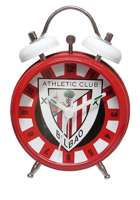CYP Imports RD-31-AC Reloj Despertador Campanas, diseño Athletic Club Bilbao Sintético