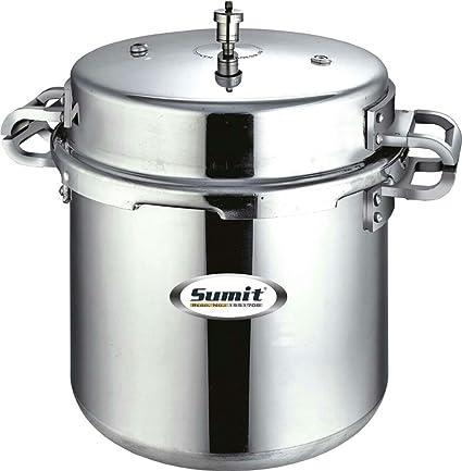 sumit aluminium pressure cooker 25 litre outerlid