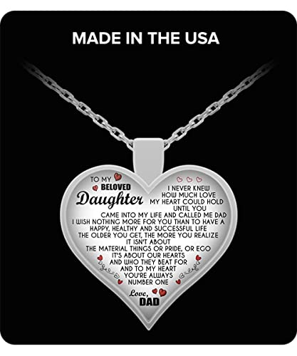Amazon com: ZEN DEAL to My Beloved Daughter,Love Dad
