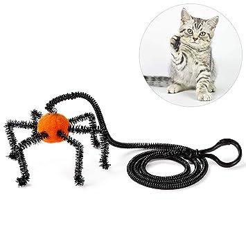 Legendog Suministro De Mascotas Gato Juguete Divertido Bat Araña Juguete para Mascotas Juguete Gatito Juguetes Suministro De Gato: Amazon.es: Productos para ...