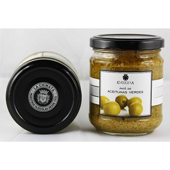 Paté de Aceitunas Verdes (180 g) - La Chinata