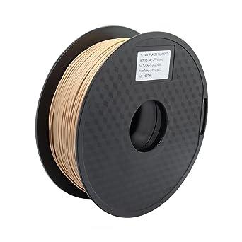 Trigorilla 1,75mm Filamento de PLA para Impresión 3D (Madera ...