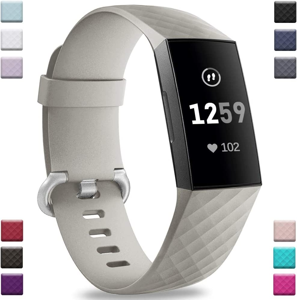malla gris para Fitbit Charge 4 / Fitbit Charge 3 / 3 se