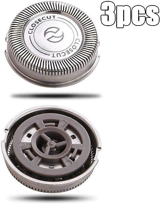 Turbobm 3Pcs HQ4 Cabeza de afeitadora de Repuesto Cabeza de ...