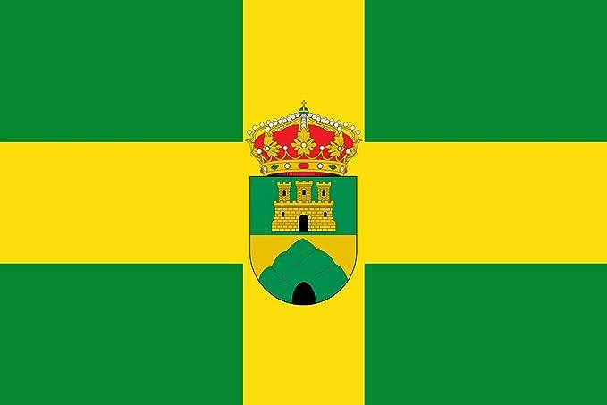 DIPLOMAT-FLAGS Oria | Municipio de Oria en la Provincia de Almería España Bandera | Bandera Paisaje | 0.06m² | 20x30cm Banderas de Coche: Amazon.es: Jardín