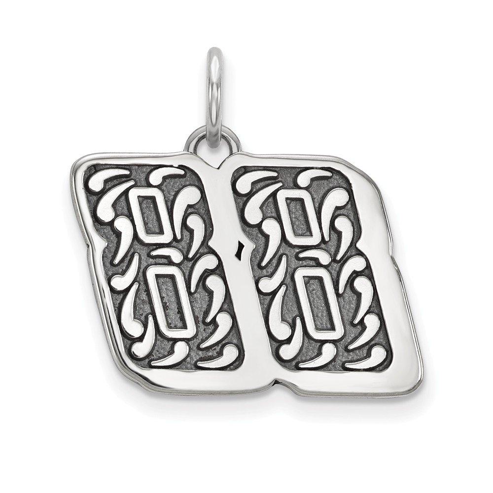 Sterling Silver Womens 88 Dale Earnhardt Jr NASCAR Jewelry Pendants /& Charms 19 mm 22 mm BALI TYPE 88 CHARM//PENDANT DANGLE