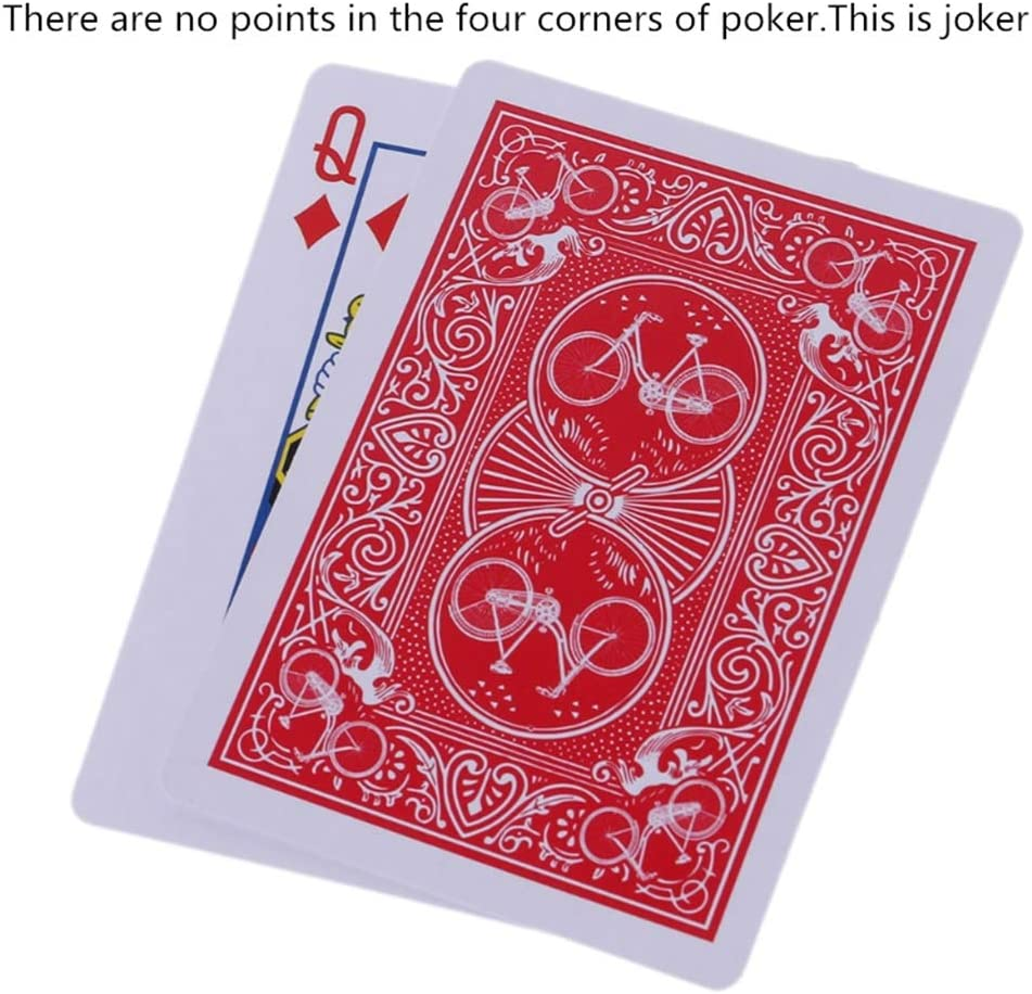 WuLi77 Playing Cards Secret Marked Stripper Decks Of Poker Cards For Magic Toys Magic Trick