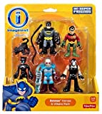 imaginext mr freeze batman - Imaginext DC Super Friends - Batman Heroes & Villains Pack with Batman Robin Catwoman Mr. Freeze and Bane