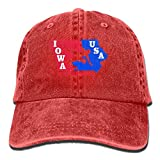 USA Wrestling Logo Baseball Caps Cool Fitted Sized Snapback Hat for Unisex
