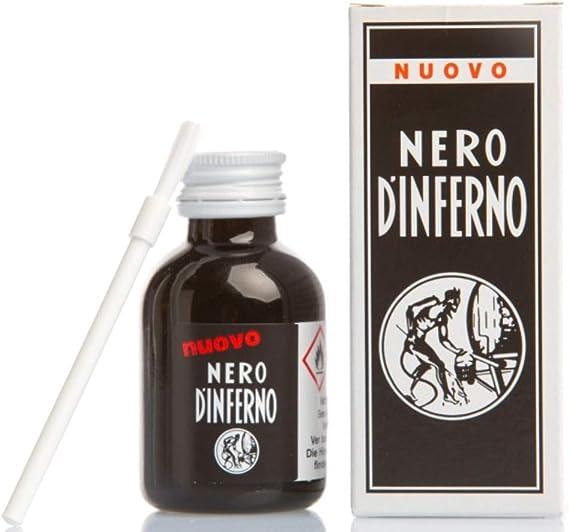 Nero DInferno - Alto Tintura Cuero tentida / Tinta - 50ml - proporcionado de graff-city - Negro