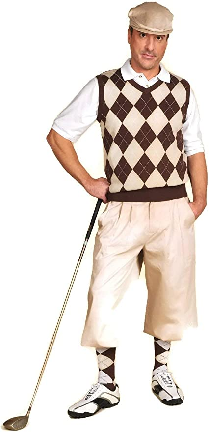 Victorian Men's Clothing, Fashion – 1840 to 1890s Classic Stewart Golf Knickers $65.00 AT vintagedancer.com