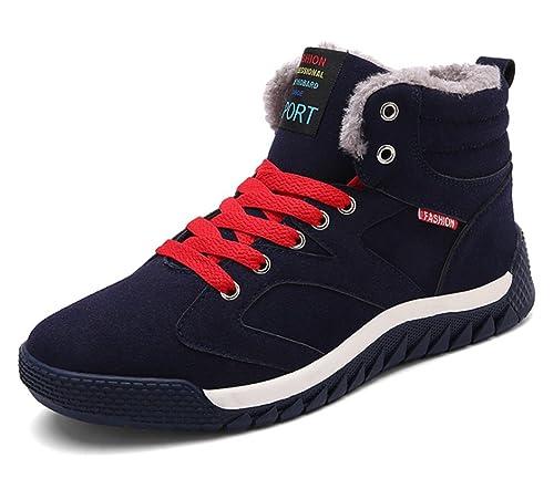 Invierno Zapatos para Correr en Montaña y Asfalto Aire Libre y Deportes Zapatillas de Running Padel