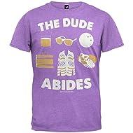 Big Lebowski - The Dude Abides Soft T-Shirt