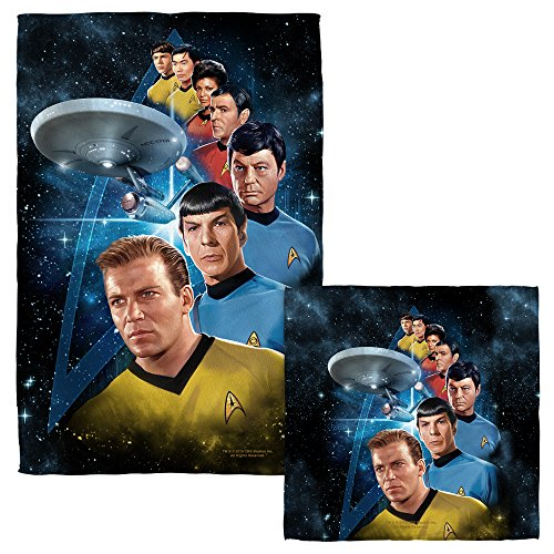 Among The Stars Face Hand Towel