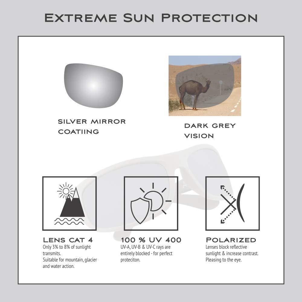 EREBOS sunglasses polarisedCat 4 extra darkUV 400 protectionFor sun