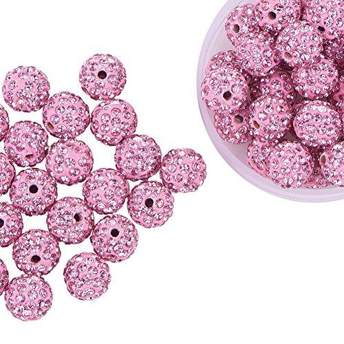 Pandahall Shamballa Polymer Rhinestone Jewelry