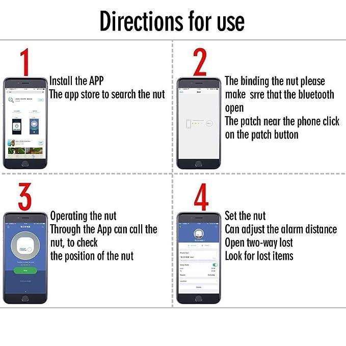 Amazon.com: Smart Tag - Localizador de llaves con Bluetooth ...
