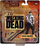 McFarlane Toys The Walking Dead TV Series 1 Exclusive Action Figure Deputy Rick Grimes Bloody Black White