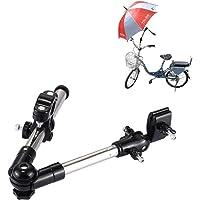 T2o ® Support de parapluie entièrement réglable pour voiturette de golf, fauteuil roulant, poussette