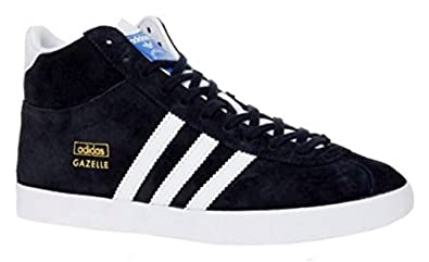 online retailer bada5 a319a Adidas Womens Gazelle OG Mid EF trainer boot M22796 Legend InkWhite Suede  Leather Size