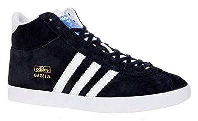 Adidas Gazelle OG Mid EF Baskets Chaussures de Sport Trainers Bleu Daim - Bleu - Bleu
