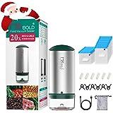 MXBOLD 35PCS Portable Vacuum Sealer Machine, Food Vacuum Sealer with 20 Sous Vide Bags, Handheld Vacuum Sealer for Food…