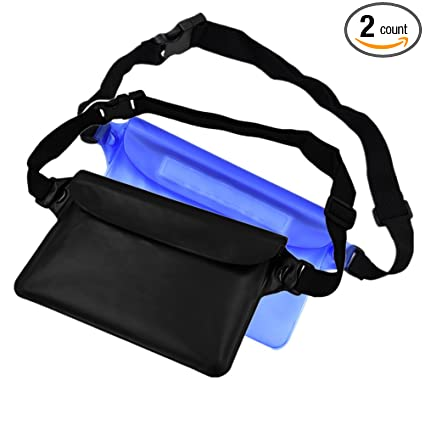 855bc690c65 Amazon.com   FUTISKY Waterproof Pouch with Waist Strap