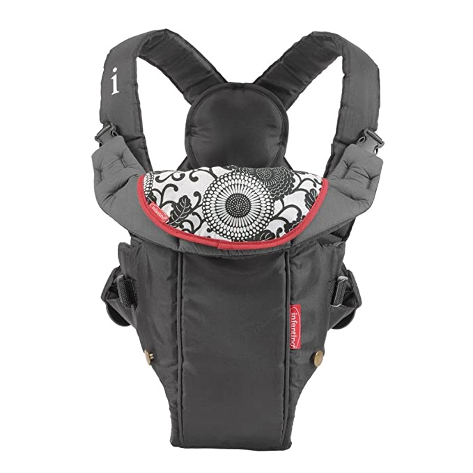 Infantino Swift Classic Carrier (Black) Front Carriers at amazon