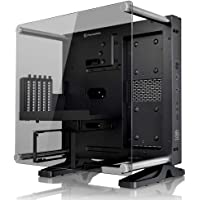 Thermaltake ca-1h9 – 00t1wn-00 Cristal Templado Mini ITX visión panorámica TT LCS Certified Wall Mount Gaming Computer Case, núcleo P1 TG