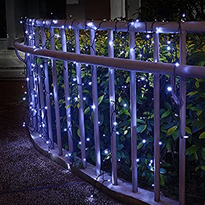 solar string lights (200 mini led or 30 globe led white£