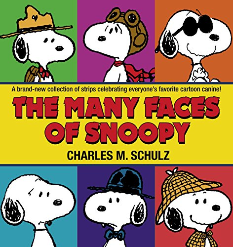 The Many Faces of Snoopy by Ballantine Books