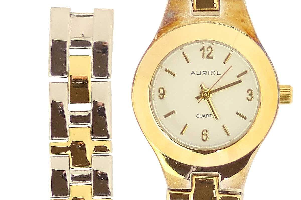 Auriol® Mujer Reloj De Pulsera - Caja y correa de acero inoxidable: Amazon.es: Relojes
