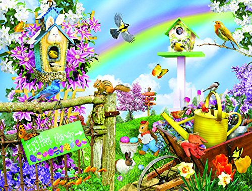 Spring Egg Hunt 300 Piece Jigsaw Puzzle by SunsOut