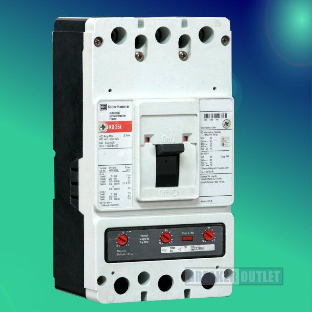 Siemens NGB3B020B Molded Case Circuit Breaker Interruptor 3 Pole In 20A 50//60 Hz 25Ka 277//480