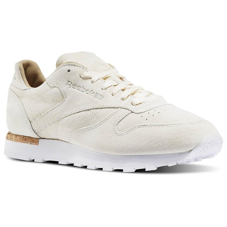 828b9ed680aca Zapatillas Reebok – Cl Leather Lst crema blanco marrón talla 43 ...