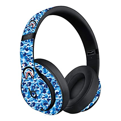 Custom Skin Decal for Beats Studio3 Wireless - Beats by Dre (Decal Only,  Device is Not Included) - Vinyl Wrap Protective Sticker by VCG Customs  (Blue