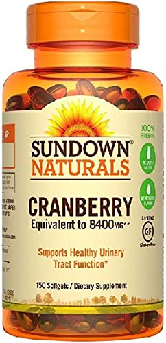 Sundown Naturals Herbal Supplement Super Cranberry