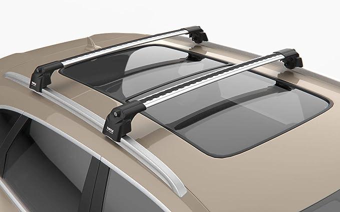 Kremer Premium Dachträger Querträger Helles Silber V2 Mercedes Benz Glc 2015 Auto