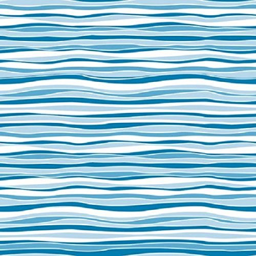 Match Stripes Wallpaper (Con-Tact Brand Creative Covering Self-Adhesive Shelf and Drawer Liner, 18-Inches by 9-Feet, Wave Marina)