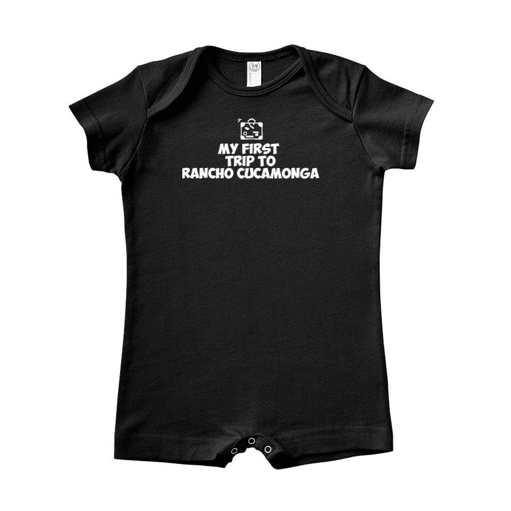 Mashed Clothing My First Trip to Rancho Cucamonga Baby Romper