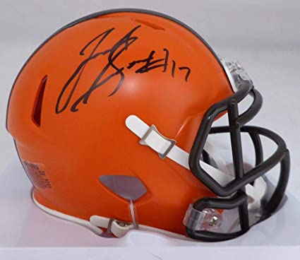 96a0e268a Image Unavailable. Image not available for. Color: Signed Josh Gordon Mini  Helmet - Speed Beckett BAS Stock ...