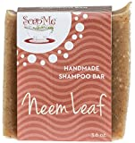 all natural handmade shampoo bar (3 pack) Neem Leaf