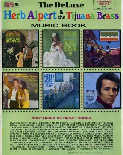 Deluxe Package Mic (The DeLuxe Herb Alpert & the Tijuana Brass Music Book Trumpet Solos)