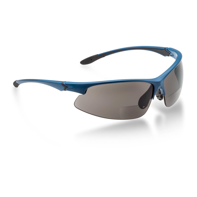 Fahrradbrille mit Leseteil, bifokal Sonnenbrille (+2,00 dpt) magic-eyewear