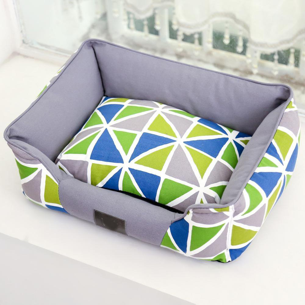 Aoligei Pet Nest Full tela di cotone a a a doppio uso cuscino perfetto per prendere il sole Mat, pisolino & sonno 60  50cm A ed5c9c
