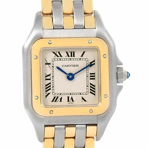 Cartier Panthere Cuarzo Mujer Reloj w25029b6 (Certificado) de Segunda Mano: Cartier: Amazon.es: Relojes
