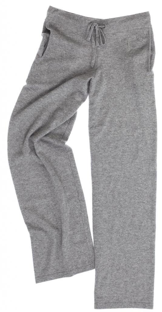 Lounge Pants - 100% Cashmere - by Citizen Cashmere (Large, Light Grey) by Citizen Cashmere (Image #4)
