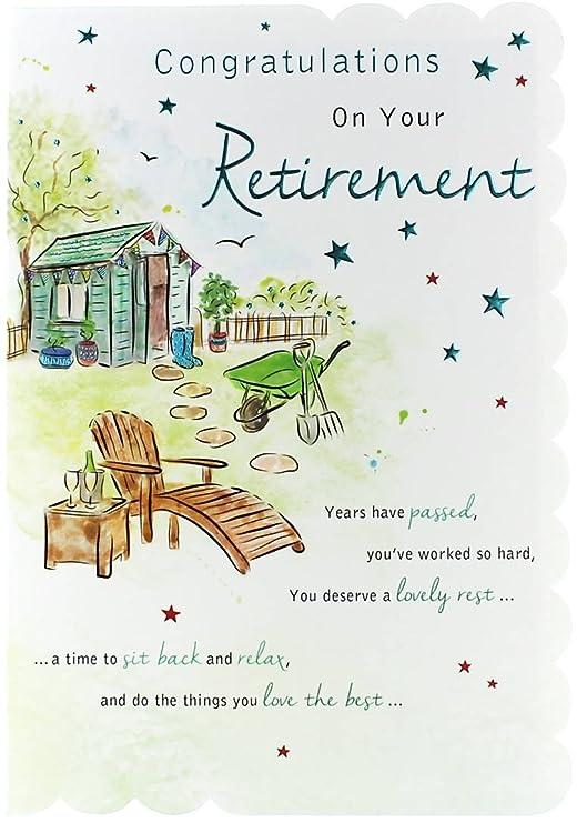 Tarjeta de felicitación de jubilación Goldmark - Caseta de ...